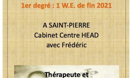 Initiez-vous facilement au 1er degré de REIKI avec Frédéric, Maître-Enseignant, au cabinet Centre-HEAD de Saint-Pierre, La Réunion.